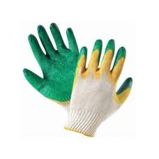Перчатки хб с латексным покрытием