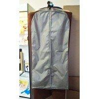 Чехол для одежды с ручками 120х60 объемный (серый)