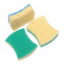 Губки для мытья посуды (3шт.)