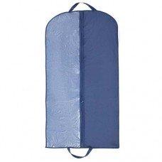 Чехол для одежды с ручкой 120x60 см, синий