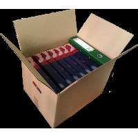 Картонная коробка 425х330х300 с ручками  (универсальная) Т-24