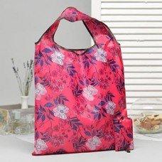 Складная сумка 38x58см розовая