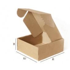 Картонная коробка самосборная с крышкой 372x265x130 Т-24