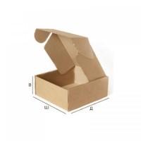 Самосборная картонная коробка с крышкой 322x222x102 Т-24