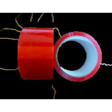 Клейкая лента(скотч) красная