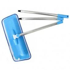 Швабра на липучке, телескопическая ручка