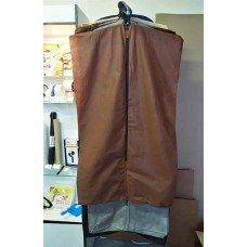 Чехол для одежды, 120х70 (коричневый)