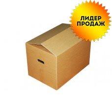 Картонная коробка 600x300x300 с ручками (большая) Т-24