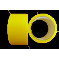 Клейкая лента(скотч)  желтая