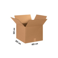 Картонная коробка 400х300х300, средняя Т-24