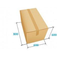 Картонная коробка 800x600x600 (супер большая) Т-24