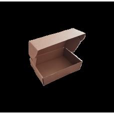 Самосборная картонная коробка с крышкой 372x265x125 Т-24