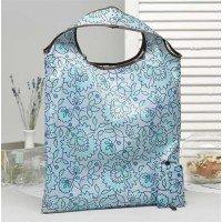 Складная сумка 38*58см голубая